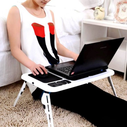 Multi-functional Laptop Table With Cooling Fan