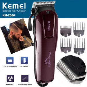 Men's Professional Electric Hair Clipper Cordless Magic Kemei KM-2600 Trimmer