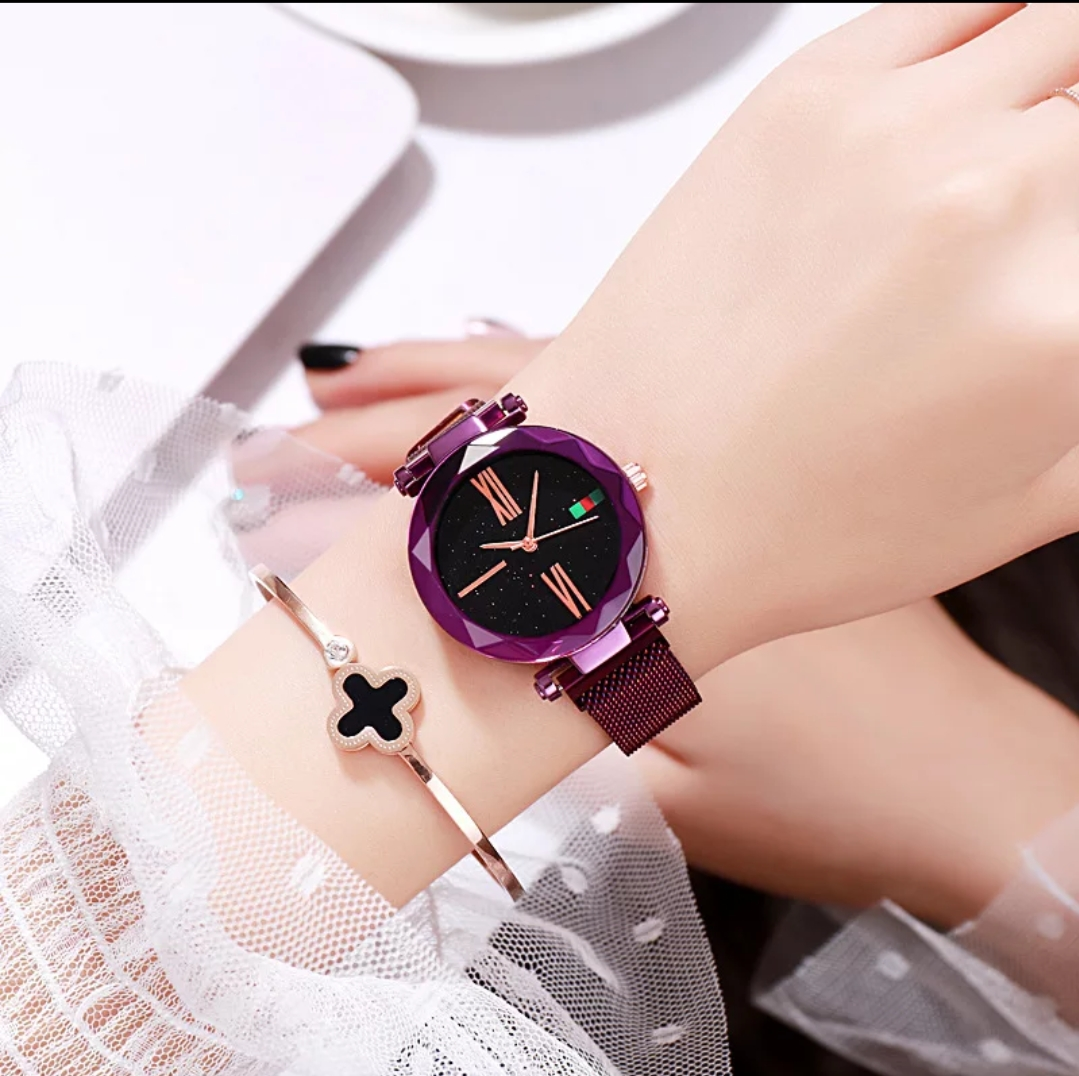 Magnetic Watch Sparkling Beauty Ladies Wrist Watch