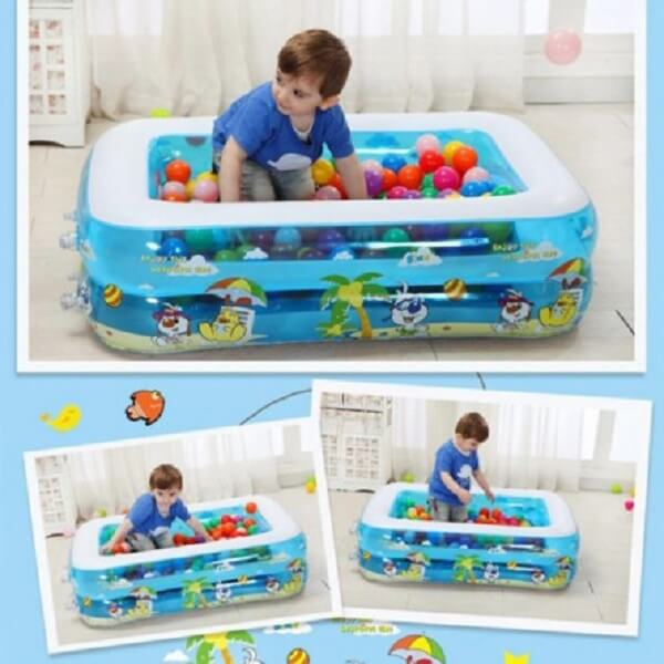 Baby Swimming Pool With Air Pumper